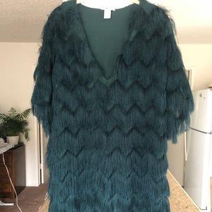 H&M fringe dress